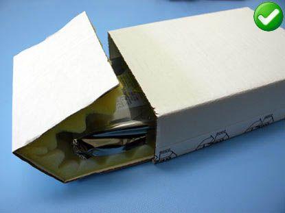 verpakking harde schijf veilig optie