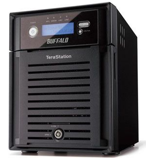 buffalo terastation data recovery