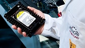 Hitachi harde schijf datarecovery afbeelding